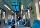 Coronavírus:  robô que esteriliza trens com radiação ultravioleta