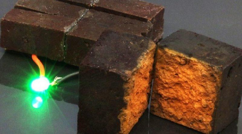 Tijolos armazenam energia suficiente para iluminação de emergência