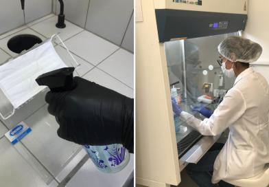 Com cobre, spray desenvolvido na Unicamp neutraliza o novo coronavírus por três dias